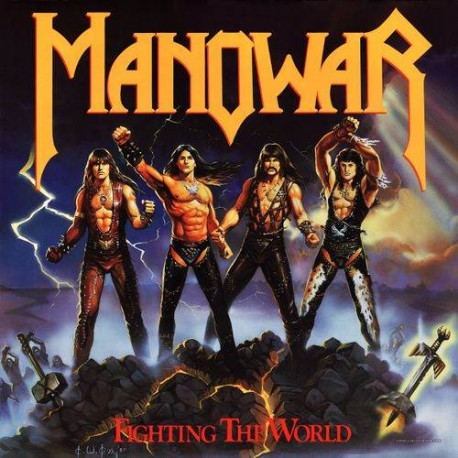 "MANOWAR ""Fighting The World"" CD"