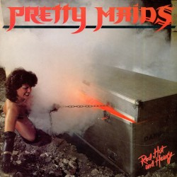 """PRETTY MAIDS """"Red Hot And Heavy"""" CD"""
