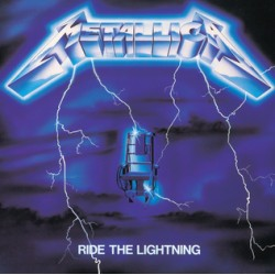"METALLICA ""Ride the Lightning"" CD"
