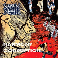 "NAPALM DEATH ""Harmony Corruption"" CD"