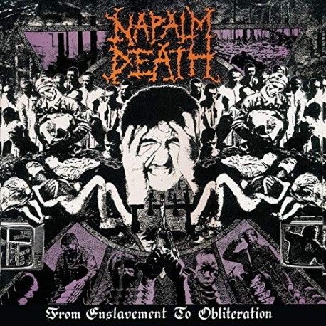 """NAPALM DEATH """"From Enslavement to Obliteration"""" CD"""