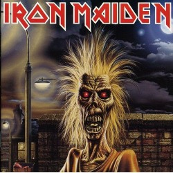 "IRON MAIDEN ""S/T"" CD"