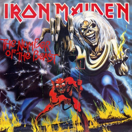 """IRON MAIDEN """"The Number Of The Beast"""" CD"""