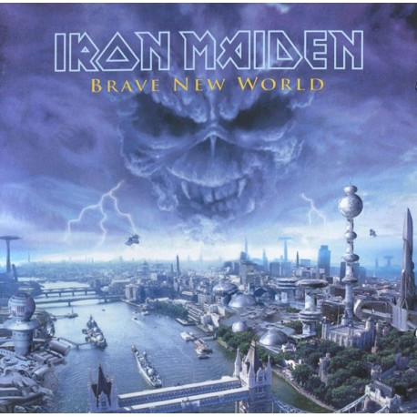 "IRON MAIDEN ""Brave New World"" CD"