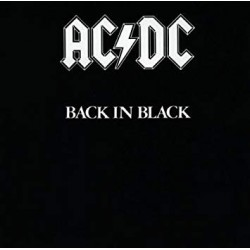 "AC/DC ""Back in Black"" CD"