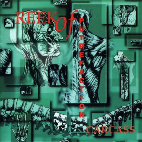 "CARCASS ""Reek Of Putrefaction"" CD"