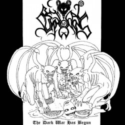 "BESTIAL SUMMONING ""The Dark War Has Begun"" CD"