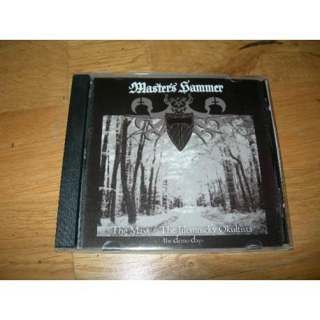 "MASTER'S HAMMER ""The Mass/The Jilemnicky Okultista - The Demo Days"" CD"