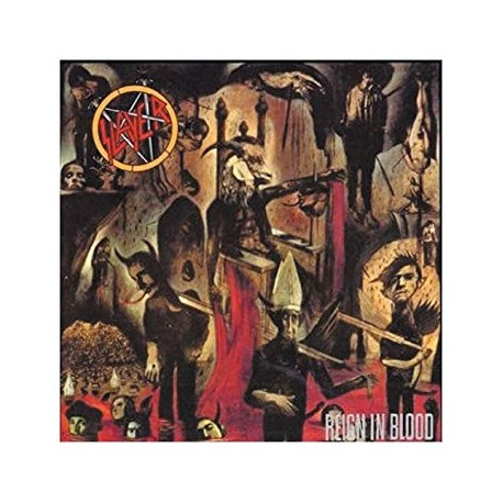 "SLAYER ""Reign in Blood"" CD"