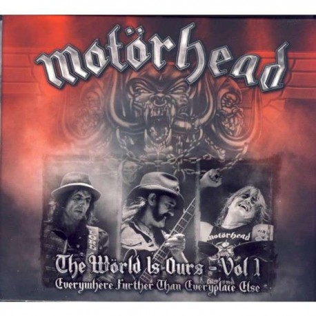 "MOTÖRHEAD ""The World Is Ours - Vol 1"" 3xCD"