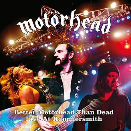 """MOTÖRHEAD """"Better Motörhead Than Dead"""" 2xCD"""
