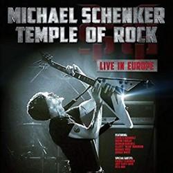 """MICHAEL SCHENKER """"Temple of Rock Live in Europe"""" 2xCD"""