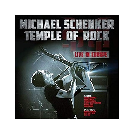 "MICHAEL SCHENKER ""Temple of Rock Live in Europe"" 2xCD"