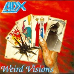 "ADX ""Weird Visions"" LP"