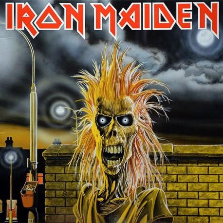 """IRON MAIDEN """"S/T"""" LP"""