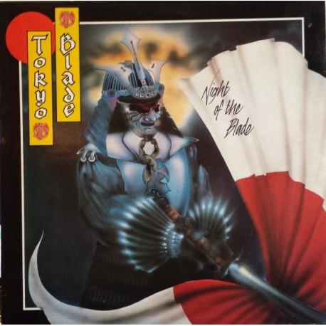"TOKYO BLADE ""Night Of The Blade"" LP"