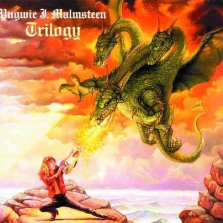 """YNGWIE J. MALMSTEEN """"Trilogy"""" CD"""