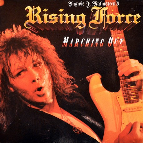 "YNGWIE J. MALMSTEEN'S RISING FORCE ""Marching Out"" CD"