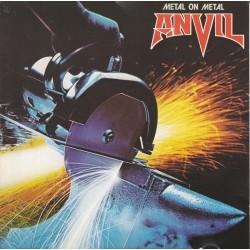 """ANVIL """"Metal On Metal"""" LP"""