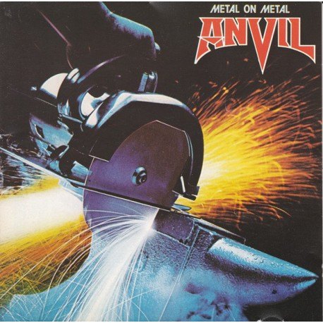 "ANVIL ""Metal On Metal"" LP"