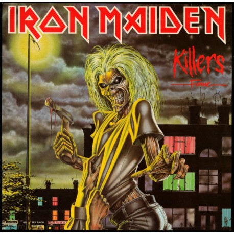 "IRON MAIDEN ""Killers"" CD"