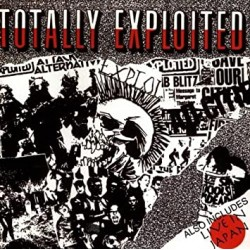 """THE EXPLOITED """"Totally Exloited / Live in Japan"""" CD"""