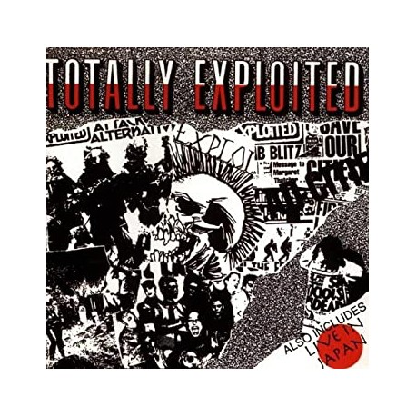 "THE EXPLOITED ""Totally Exloited / Live in Japan"" CD"