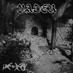 """VADER """"Live In Decay"""" CD"""