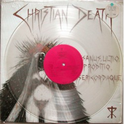 "CHRISTIAN DEATH ‎""Insanus, Ultio, Proditio, Misericordiaque"" LP"