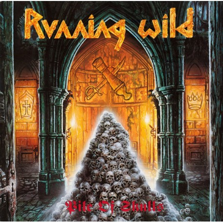 "RUNNING WILD ""Pile of Skulls"" CD"
