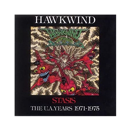 "HAWKWIND ""Stasis. The Ua Years 1971 - 1975"" CD"