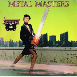 "ACCEPT ""Metal Masters"" CD"