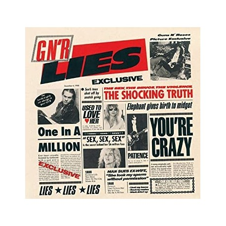 "GUNS N' ROSES ""Lies"" CD"