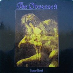 """THE OBSESSED """"Lunar Womb"""" LP"""