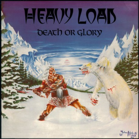 "HEAVY LOAD ""Death or Glory"" LP + CD"