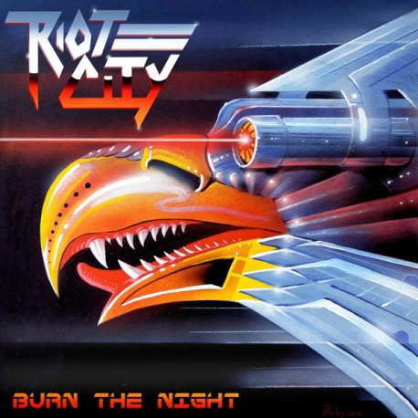 "RIOT CITY ""Burn The NIght"" LP"