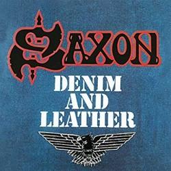 "SAXON ""Denim And Leather"" LP"