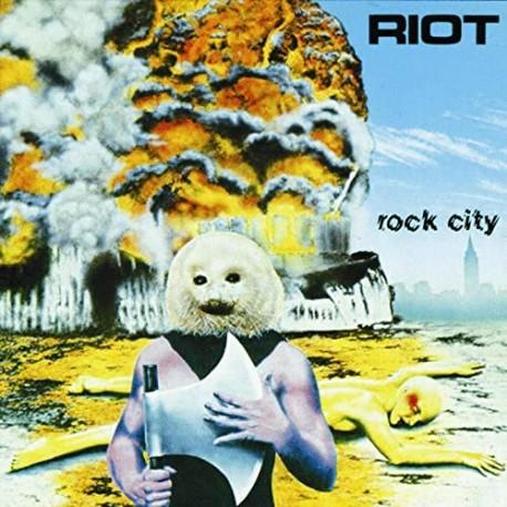 """RIOT """"Rock City"""" LP"""