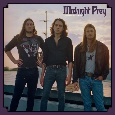 """MIDNIGHT PREY """"Uncertain Times"""" LP"""