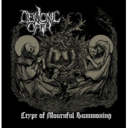 "DEMONIC OATH ""The Crypt Of Mournful Summoning"" LP"