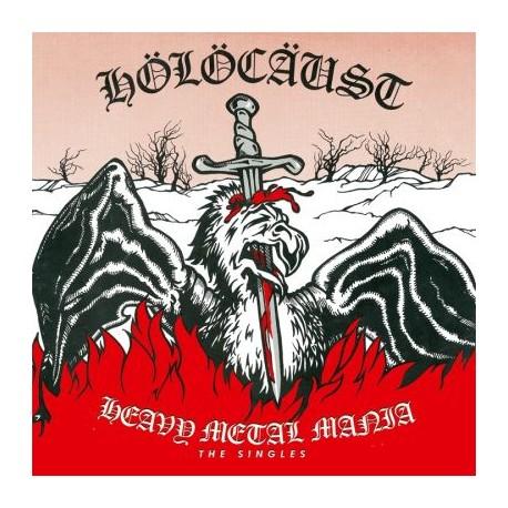 "HOLOCAUST ""Heavy Metal Mania - The Singles"" CD"