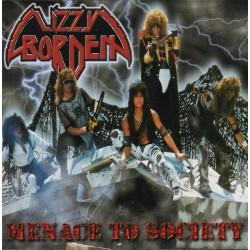 """LIZZY BORDEN """"Menace To Society"""" CD"""
