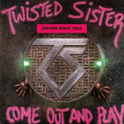 """TWISTED SISTER """"Come Out And Play"""" CD"""
