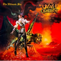 "OZZY OSBOURNE ""The Ultimate Sin"" LP"