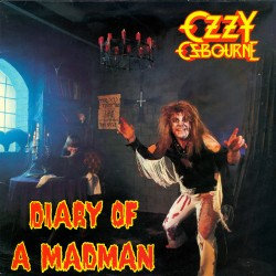 "OZZY OSBOURNE ""Diary of a Madman"" LP"