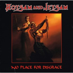 "FLOTSAM AND JETSAM ""No Place For Disgrace"" LP"