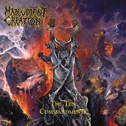 """MALEVOLENT CREATION """"The Ten Commandments"""" LP"""