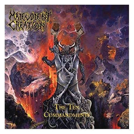"MALEVOLENT CREATION ""The Ten Commandments"" LP"