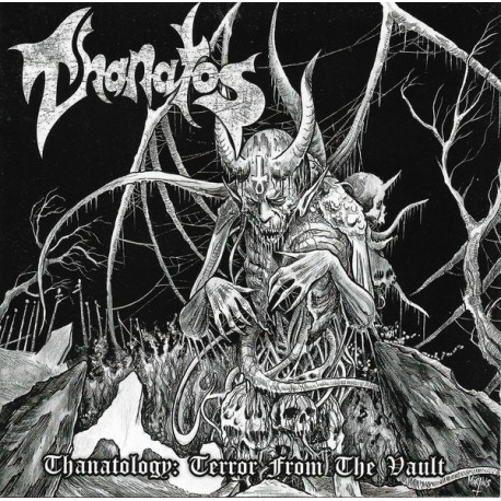 "THANATOS ""Thanatology: Terror From The Vault"" 2xLP"