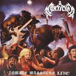 """MORTICIAN """"Zombie Massacre Live!"""" 2xLP"""